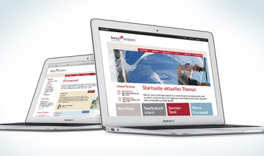 Intranet - Webdesign - BWSG