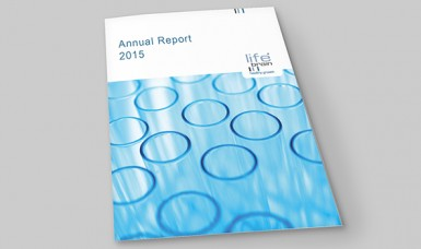 Lifebrain - Annualreport 2015 - Cover